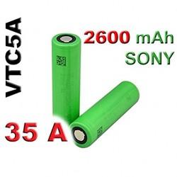 Sony 18650 VTC5A 2600 mAh 35A